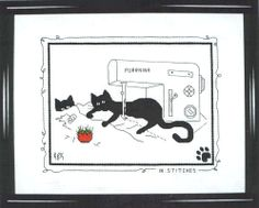 In Stitches - Kats by Kelly Calico Crossroads