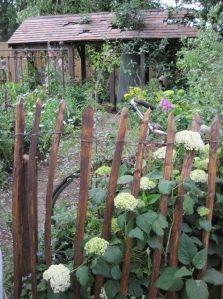 vintage garden fencing
