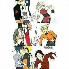 UwU sasunaru for ever >w< Naruto Kakashi, Anime Naruto, Naruto Comic, Naruto Cute, Naruto Shippuden Sasuke, Hinata, Sasunaru, Naruko Uzumaki, Boruto