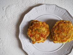 Ricotta and Vegetable Fritters Recipe - Fat Mum Slim Real Food Recipes, Snack Recipes, Snacks, Fat Mum Slim, Corn Fritters, Quiche Recipes, Foods To Eat, Vegetable Dishes, Ricotta