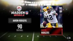 Madden NFL Mobile hack is finally here and its working on both iOS and Android platforms. Stephen Jackson, Real Hack, Cheat Online, Play Hacks, Madden Nfl, Game Resources, Game Update, Free Cash, Aaron Rodgers