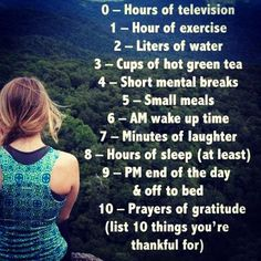 RT @DailyHealthTips: List 10 things you're #thankful for  #happiness #health