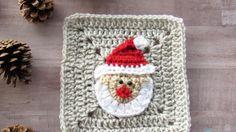 WEEK 1 - Christmas Granny Afghan CAL - Santa Claus