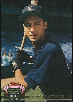 a205e49ed42 1992 Draft Pick Derek Jeter Rookie Card