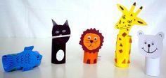 Toilet paper rolls animals #kids #craft