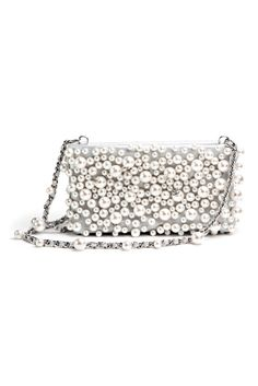 Style.com Accessories Index : spring 2013 : Chanel pearl bag