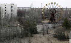 A view of the abandoned city of Prypiat, near the Chernobyl nuclear power plant March 31, 2011. Belarus, Ukraine and Russia will mark the 25th anniversary of the nuclear reactor explosion in Chernobyl, the place where the world's worst civil nuclear accident took place, on April 26.