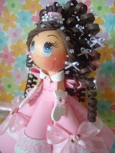 Qmimos - Fazendo Arte brincando: Debutante Rosinha