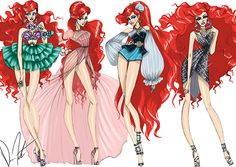 Disney Fashion Frenzy - Ariel Set By: Daren J