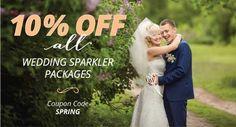 Wedding Sparklers | Wedding Day Sparklers Outlet