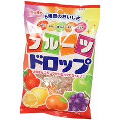 Meito Fruit Drop Candy 3.35 oz
