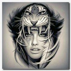 Tree Tattoo Tigertattoo Tattoo Japanese Koi Tattoo Oriental Inspired Tiger Half Sleeve Design Half 100 Tiger Tattoo Designs For Men King Of Beasts And Jungle 40 Tiger Dragon Tattoo Leo Tattoos, Bild Tattoos, Future Tattoos, Body Art Tattoos, Skull Tattoos, Heart Tattoos, Maori Tattoos, Tatoos, Samoan Tattoo