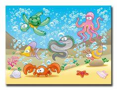 14742404 / Cuadro Animales de Mar