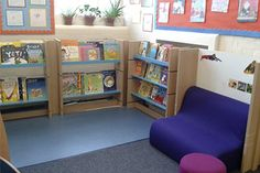 Primary school reading corners transform Oliver Goldsmith classrooms