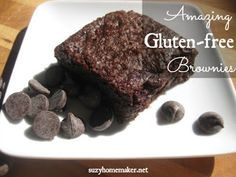 suzyhomemaker: amazing gluten-free brownies