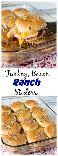 When you use leftover Thanksgiving turkey to make these easy sliders, no one will guess you're trying to get rid of leftovers!