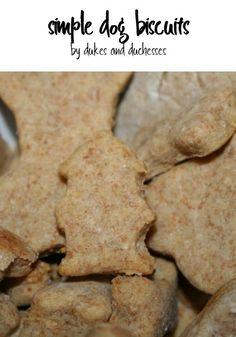 simple dog biscuit recipe