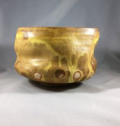 Matcha chawan Japanese teabowl gasfired with by ofthedirtpottery