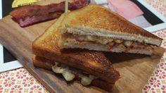 Elvis-sandwich med peanøttsmør, banan og bacon