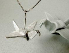 beautiful #origami jewellery <3