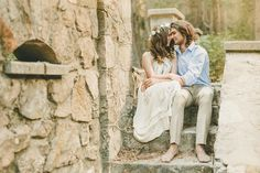 Bohemian Engagement Shoot | Kristen Booth Photography | Bridal Musings Wedding Blog 4