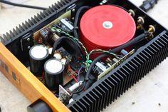 DIY Classic John Linsley Hood Class A Amplifier