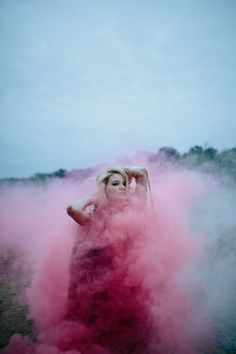 Pink smoke bomb look – Velvet Dust Magazine Issue 1 Utopia / Dystopia Smoke Bomb Photography, Color Photography, Creative Photography, Portrait Photography, Landscape Photography, Photography Themes, Photography Filters, Popular Photography, Photography Guide