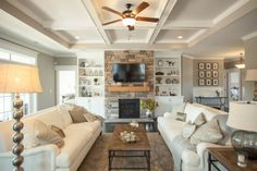 Coastal rustic decor complement this ideal living home easily!