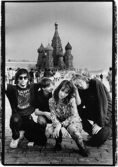 Sonic Youth: One of the best rock bands ever.