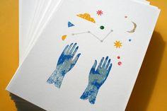 Title: Reach For The StarsArtwork Gocco Print