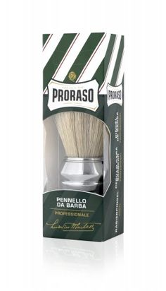Shaving Brush Proraso Large Bristle And Chrome Handle Badger Shaving Brush, Shaving Soap, Boar Bristle, Hair Removal, Small Gifts, Health And Beauty, Conditioner, How To Apply, Pure Products