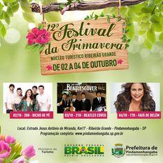 12º Festival da Primavera - 2015   Prefeitura de Pindamonhangaba.