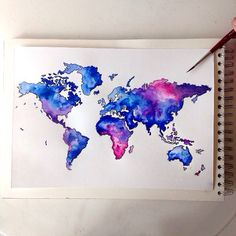 Fantastic Watercolor Pencils Works by German Artist Jana Grote.