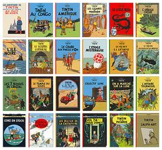 The Tintin books were cherished.  They opened my eyes to the world, enthralled me with amazing stories, nurtured my love of cars, and above all encouraged a sharp humor and outlook I carry to this day.  Forget Mad Magazine, this was my realm.  Captain Haddock getting drunk and raging after the bad guys was pure greatness!  Still keep a set of these in my office!