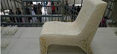 Een 3D-print om in weg te zakken #3dprinted #stoel http://bright.nl/3d-print-om-weg-te-zakken…