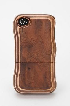 Hand-Carved Wooden iPhone 4/4s Case