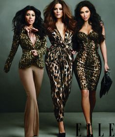 Kardashians, they are my guilty pleasure, I love their styles, gorgeous gals :-)