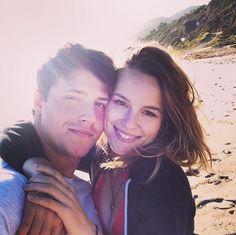 Photos From Bridgit Mendler And Shane Harper's Beach Date