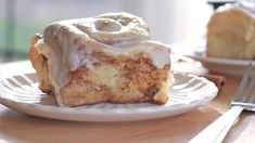 The softest, fluffiest homemade cinnamon roll ever! Loaded with cinnamon brown sugar and covered in cream cheese glaze. The best cinnamon roll recipe! Top Recipes, Dessert Recipes, Cooking Recipes, Desserts, Bread Recipes, Cooking Tips, Breakfast Recipes, Recipies, Best Cinnamon Roll Recipe