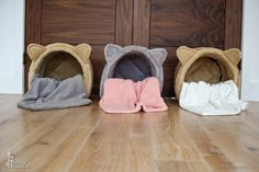 CAT BEDDING - SUPER COZY, SOFT AND NATURAL