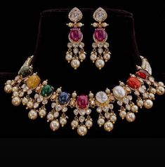 Fulfill a Wedding Tradition with Estate Bridal Jewelry Gold Jewellery Design, Gold Jewelry, Indian Gold Jewellery, Branded Jewellery, Mommy Jewelry, Jewellery Earrings, Gold Necklaces, Jewellery Shops, Temple Jewellery