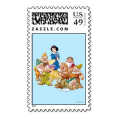 Snow White and the Seven Dwarfs Postage Stamps