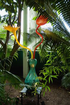 Chihuly at the Bronx Botanical Gardens