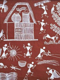 Making Baskets | Warli Painting