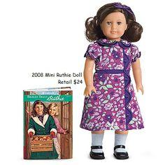 American Girl Doll Mini Ruthie