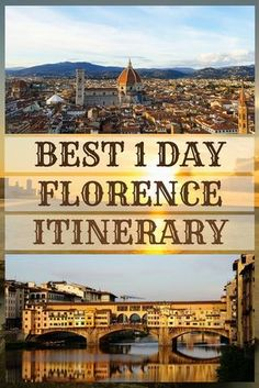 How to spend one fantastic day in Florence, Italy #One day #Florence #walking #Itinerary #italy