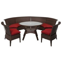 Target Home™ Rolston 5-Piece Wicker Sectional Patio Dining Furniture Set