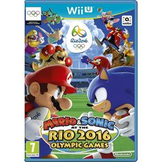 All of your favourite Mario and Sonic characters are ready to join the fun in Rio, the host of the Olympic Games in August 2016.Take the rivalry on the road with supercharged Olympic events like Football and Table Tennis in the Nintendo 3DS version, or see if you've got what it takes to hang with the best in the Wii U version, with events like Football, Rugby, and Beach Volleyball!Mario & Sonic at the Rio 2016 Olympic Games: The Wii U version of the game launches on 24th June and includes…