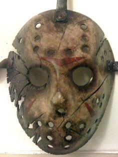 #Custom #Friday the 13th #Jason Voorhees #Hockey Mask #Horror