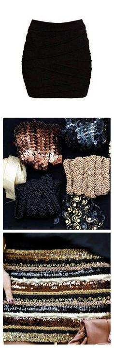 """Normal y """"Corriente""""... El blog para mujeres con Chispa*: Haz tu propia falda para salir de noche"""